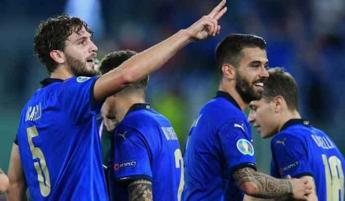 Dua Rekor Manuel Locatelli Usai Borong Dua Gol Kemenangan Italia ke Gawang Swiss