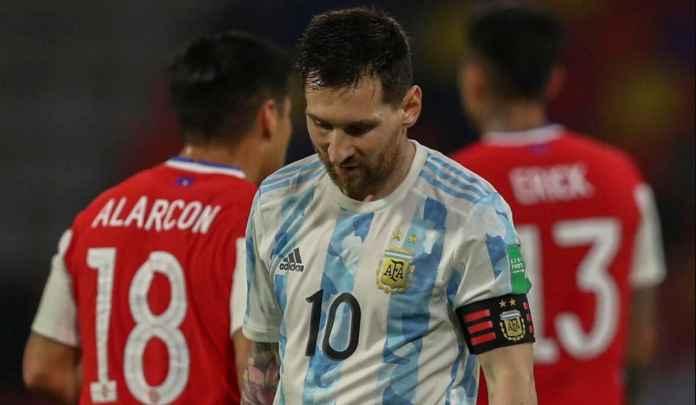 Lionel Messi di Argentina, 13 Pertandingan, Cuma Tiga Gol, Itu Pun Penalti Semua