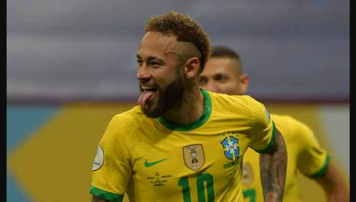 Hasil Brasil vs Venezuela di Copa America 2021, Neymar dan Marquinhos Cetak Gol