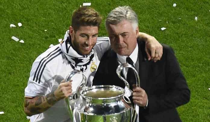 Carlo Ancelotti Akui Sulit Bayangkan Real Madrid Tanpa Sergio Ramos