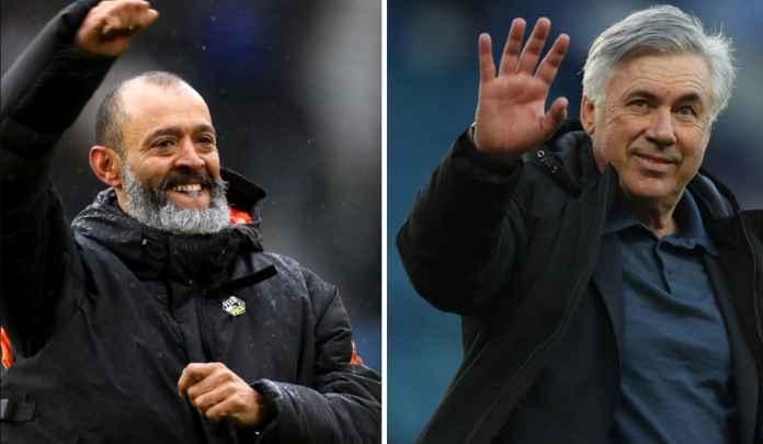 Carlo Ancelotti Minggat ke Madrid, Everton Saingi Palace Dapatkan Nuno Espirito Santo
