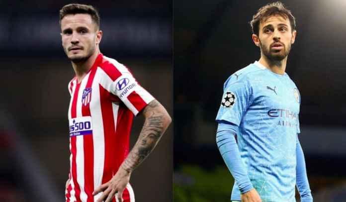 Atletico Madrid Tawarkan Saul Niguez ke Man City Untuk Ditukar Bernardo Silva