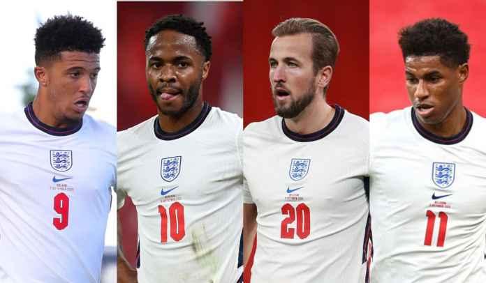 Trio Penyerang Ini Harus Jadi Pilihan Utama di Lini Serang Inggris di Euro 2020