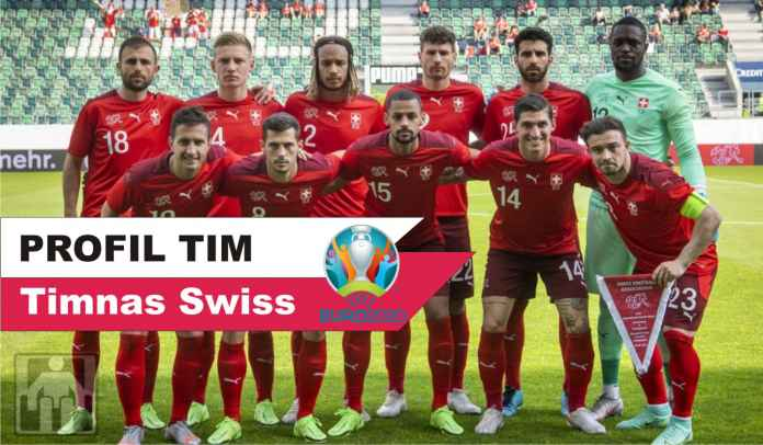 Profil Timnas Swiss : Skuad Lengkap, Manajer, Taktik, Jadwal, & Prediksi di Euro 2020