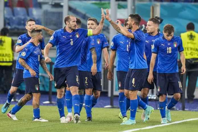 Timnas Italia Diklaim Tim Terbaik Euro 2020