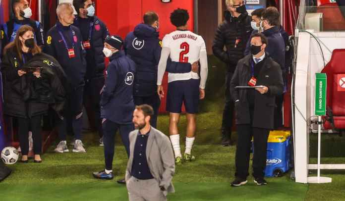 Menang Sih, Tapi Inggris Sekarang Was-Was Usai Usai Cederanya Trent Alexander-Arnold