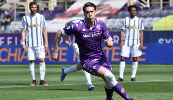 Batal Pulangkan Moise Kean, Juventus Kini Bidik Striker 695 Milyar Milik Fiorentina