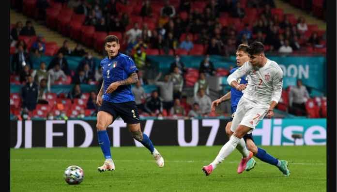 Hasil Semi Final Euro 2020: Italia Melaju ke Final Usai Adu Penalti, Spanyol Kurang Beruntung