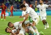 Hasil EURO 2020: Italia Menang! Di Semi Final Akan Temui Tim yang Sakiti Azzurri 12 Kali Sepanjang Sejarah