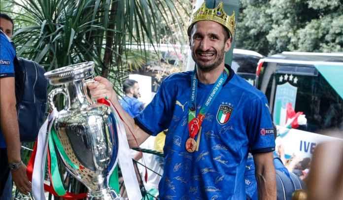 Presiden & Pelatih Juventus Kompak Pastikan Giorgio Chiellini Bertahan di Turin
