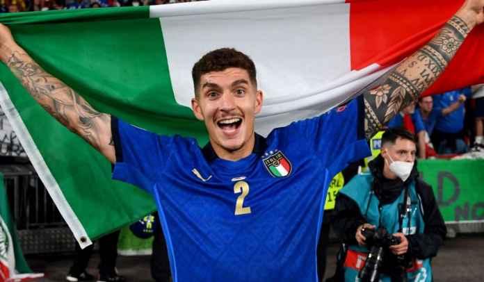 Di Lorenzo Diminati Man Utd Usai Antar Italia Juara Euro 2020, Begini Kata Agennya