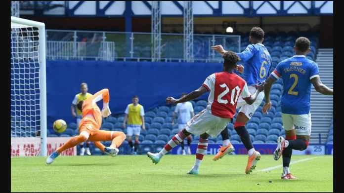 Arsenal Diselamatkan Edward Nketiah dan Nuno Tavares