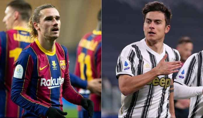 Barcelona Tawarkan Antoine Griezmann ke Juventus Dengan Imbalan Paulo Dybala