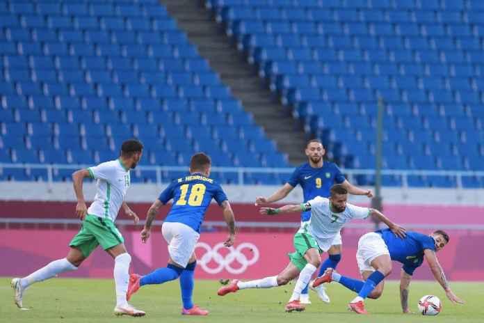 Hasil Arab Saudi vs Brasil di Olimpiade Tokyo: Pemain Everton Sumbang Dua Gol, Tim Samba ke Perempat Final