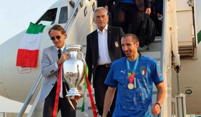 Skuad Azzurri Dapat Gelar Ksatria dari Pemerintah Italia Usai Juara Euro 2020
