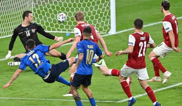 Sesi Latihan Terakhir Tim Roberto Mancini Bocorkan Starting XI Italia vs Belgia