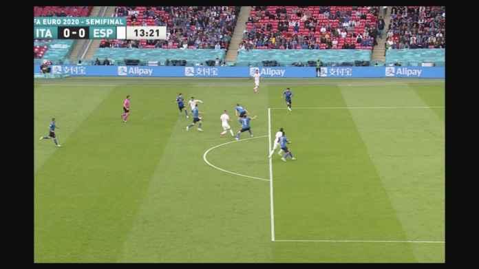 Spanyol Seharusnya Sudah Unggul 2 Gol Dari Babak Pertama Semi Final Euro 2020