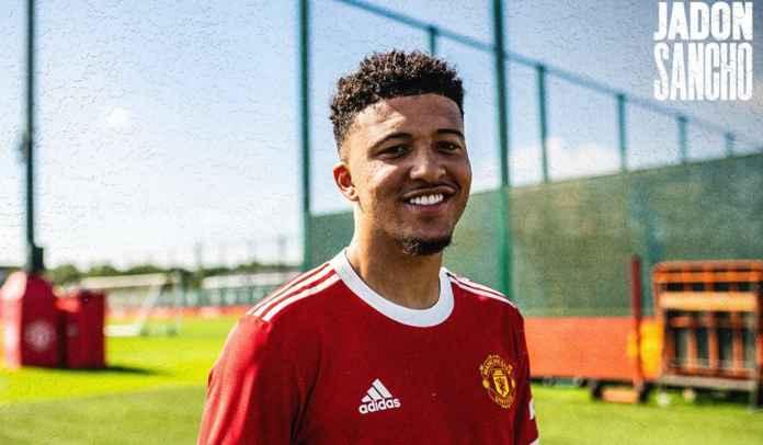 RESMI! Manchester United Akhirnya Tuntaskan Transfer Jadon Sancho 1,45 Trilyun
