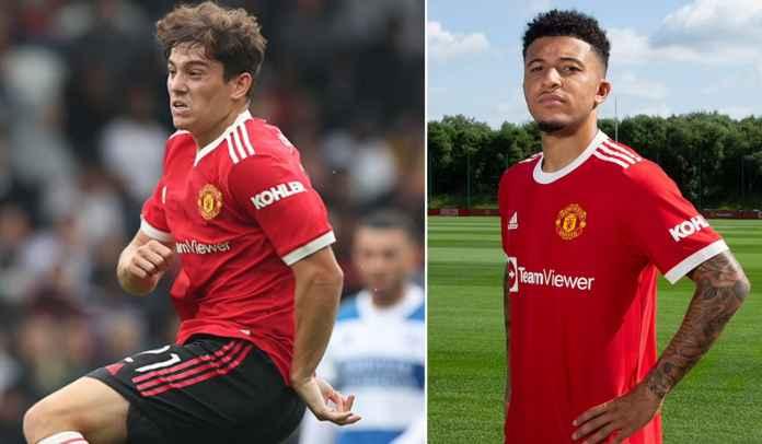 Jadon Sancho Datang, Masa Depan Daniel James Tetap Aman di Manchester United
