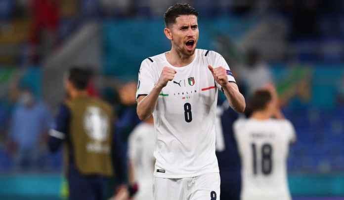 Maurizio Sarri Dukung Jorginho Menangi Ballon d'Or Jika Italia Juara Euro 2020