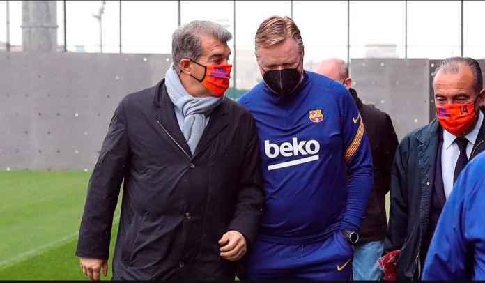 Joan Laporta Bidik Dua Pemain Ini, Manajer Barcelona Ronald Koeman Tidak Setuju
