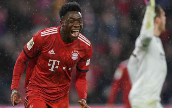 Bayern Munchen Sambut Alphonso Davies yang Urung Berlaga di Gold Cup
