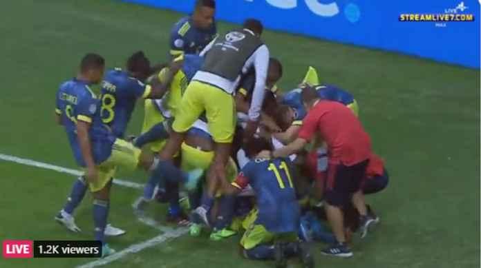 Hasil Kolombia vs Peru di Copa America: Kolombia Sukses Amankan Tempat Ketiga