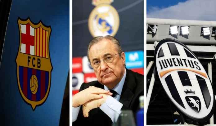 Real Madrid, Barcelona & Juventus Bersumpah Pertahankan Proyek Liga Super Eropa