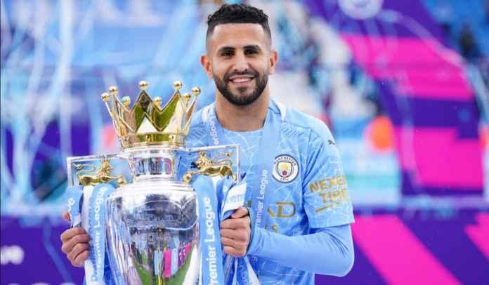 Riyad Mahrez Sebut Tak Ada Klub Lebih Tinggi Ketimbang Manchester City