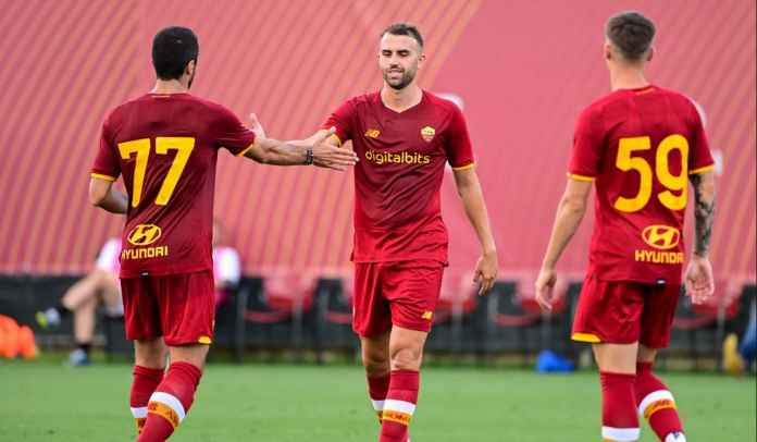 Laga Perdana Jose Mourinho, AS Roma Menang 10-0 di Laga Persahabatan