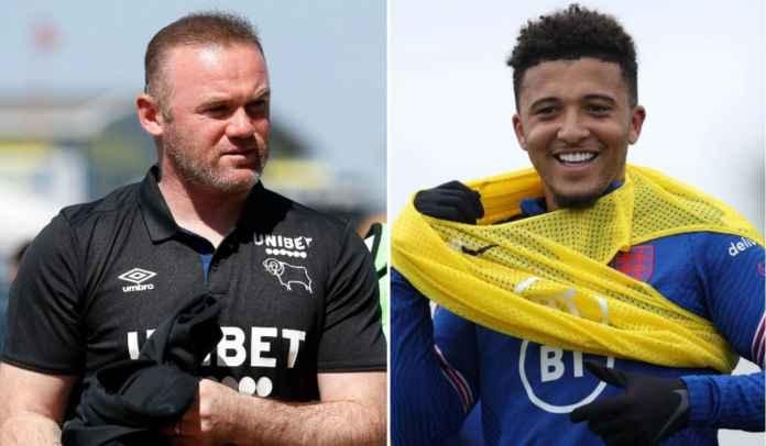 Jadon Sancho Masuk, Wayne Rooney Optimis Man Utd Bakal Tantang Gelar Musim Depan