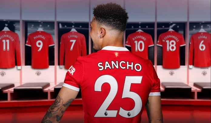 Terungkap, Ini Alasan Jadon Sancho Nggak Pakai Jersey No 7 di Manchester United