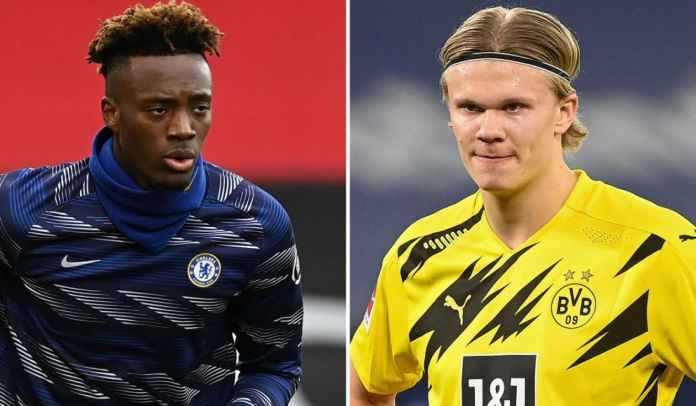 Ngotot Inginkan Erling Haaland, Chelsea Tawarkan Tammy Abraham ke Dortmund