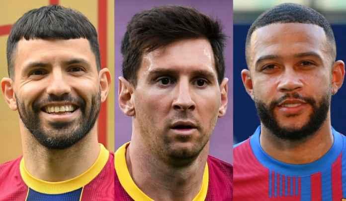 Lionel Messi Minggat, Sergio Aguero & Memphis Depay Didorong Tinggalkan Barcelona
