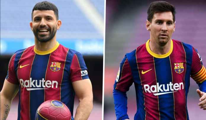 Kecewa Lionel Messi Pergi, Sergio Aguero Cari Celah Untuk Tinggalkan Barcelona