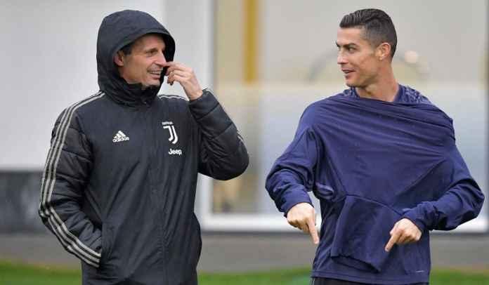 Cristiano Ronaldo Bilang ke Massimiliano Allegri Bakal Bertahan di Juventus Musim Ini