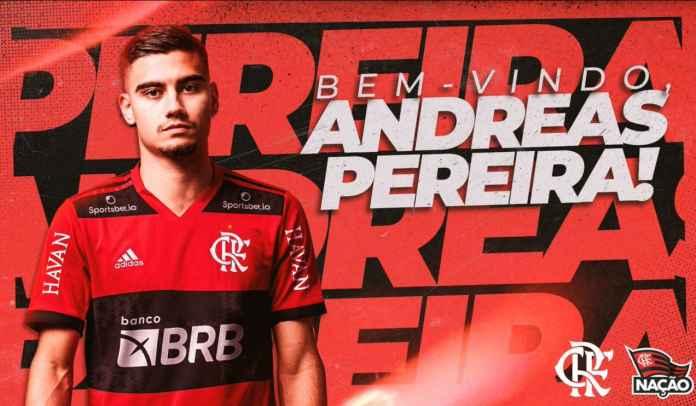 RESMI : Manchester United Kirim Andreas Pereira ke Flamengo Dengan Status Pinjaman