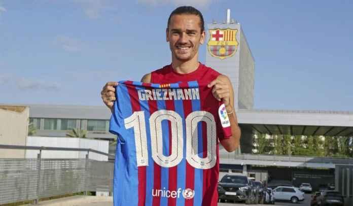 Menolak Pindah, Antoine Griezmann Targetkan 100 Laga Lagi Bersama Barcelona