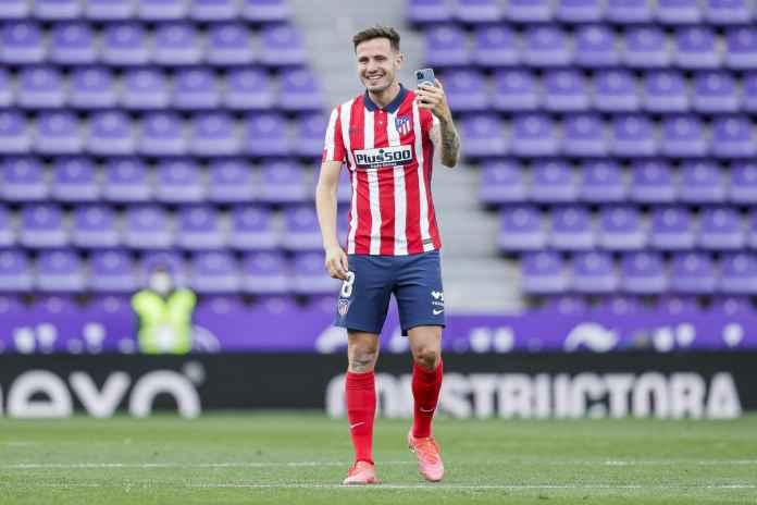 Atletico Madrid Belum Terima Tawaran untuk Saul Niguez