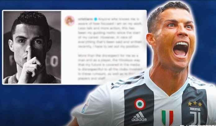 Cristiano Ronaldo Marah-Marah Usai Dikaitkan Dengan Transfer ke Madrid, PSG Hingga City