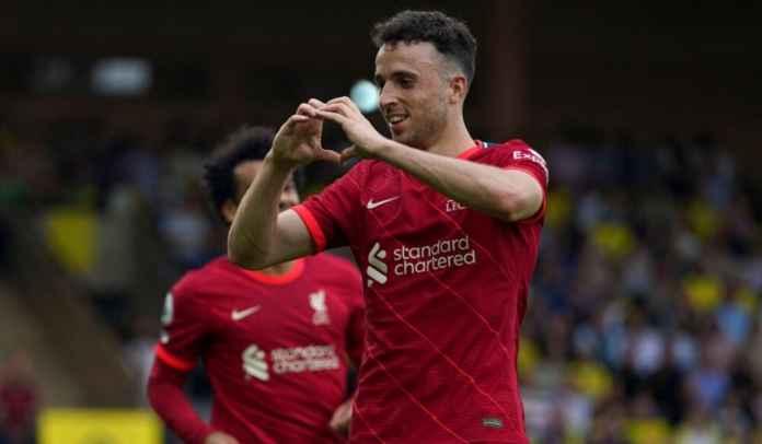 Butuh 9 Bulan Bagi Diogo Jota Untuk Cetak Gol Lagi Bagi Liverpool di Anfield