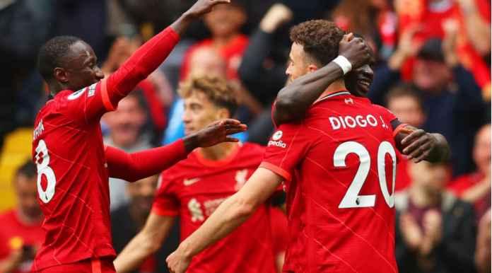 Liverpool Unggul 1-0, Lihat Tarkowski Marah-marah usai Gol Diogo JotaBawa