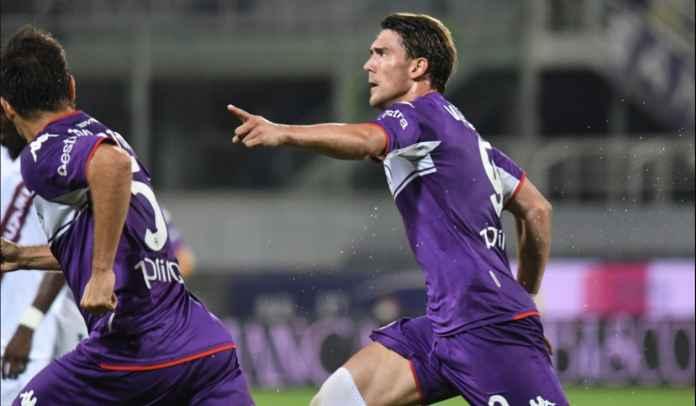 Moncer Bersama Fiorentina, Dusan Vlahovic Berharap Bisa Bertemu Erling Haaland