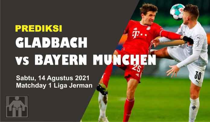 Prediksi M'gladbach vs Bayern Munchen, Matchday 1 Liga Jerman, Sabtu 14 Agustus 2021