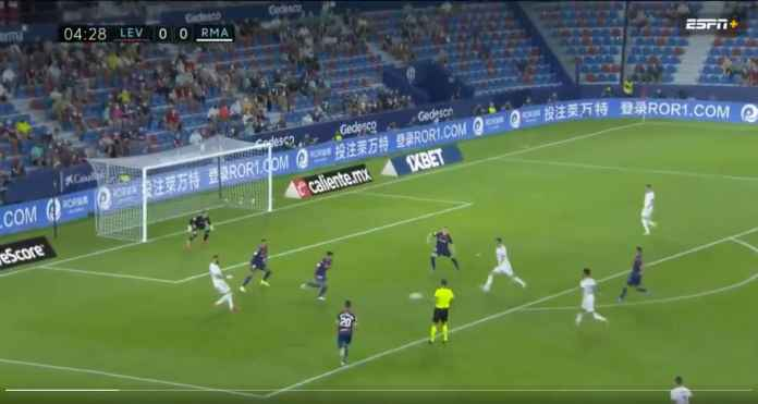 Hasil Levante vs Real Madrid: Akhirnya Gareth Bale Cetak Gol Lagi Setelah 720 Hari, Tapi Gagal Menang!