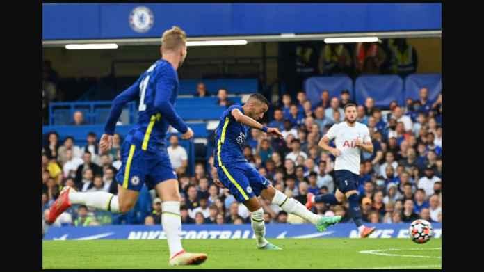 2 Gol Ziyech ke Gawang Tottenham Tadi Malam Kukuhkan Posisinya di Skuad Utama Chelsea