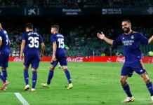 Hasil Real Betis vs Real Madrid 0-1 di pekan ketiga Liga Spanyol