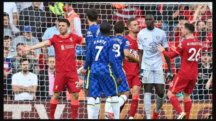 Nyaris Kelahi Massal Liverpool vs Chelsea, Gara-gara Kiper Edouard Frustrasi, Jordan Henderson Provokasi