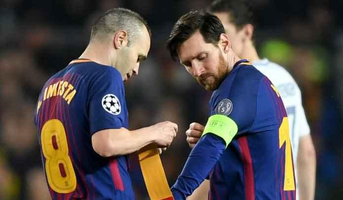 Andres Iniesta : Menyakitkan Lihat Lionel Messi Kenakan Jersey Tim Selain Barcelona