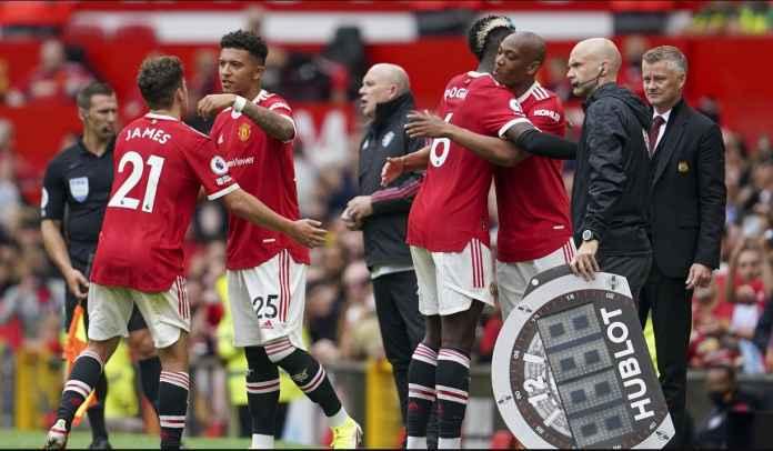 Southampton vs Man Utd : Daniel James Starter, Jadon Sancho Cadangan Lagi